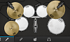 Drums and Gold Kit Pack for FREE-studio-png