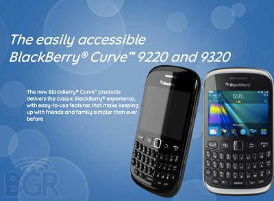 Blackberry Curve 9220 | BB Curve 9320