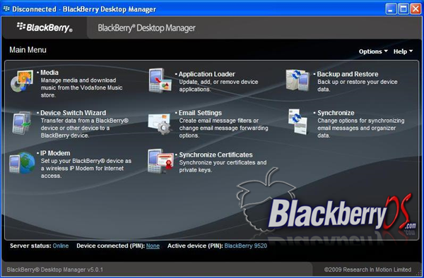 dm501s Desktop Manager 5.0.1