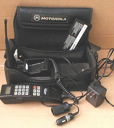 see what your first phone was i go all the way back to the bag phones